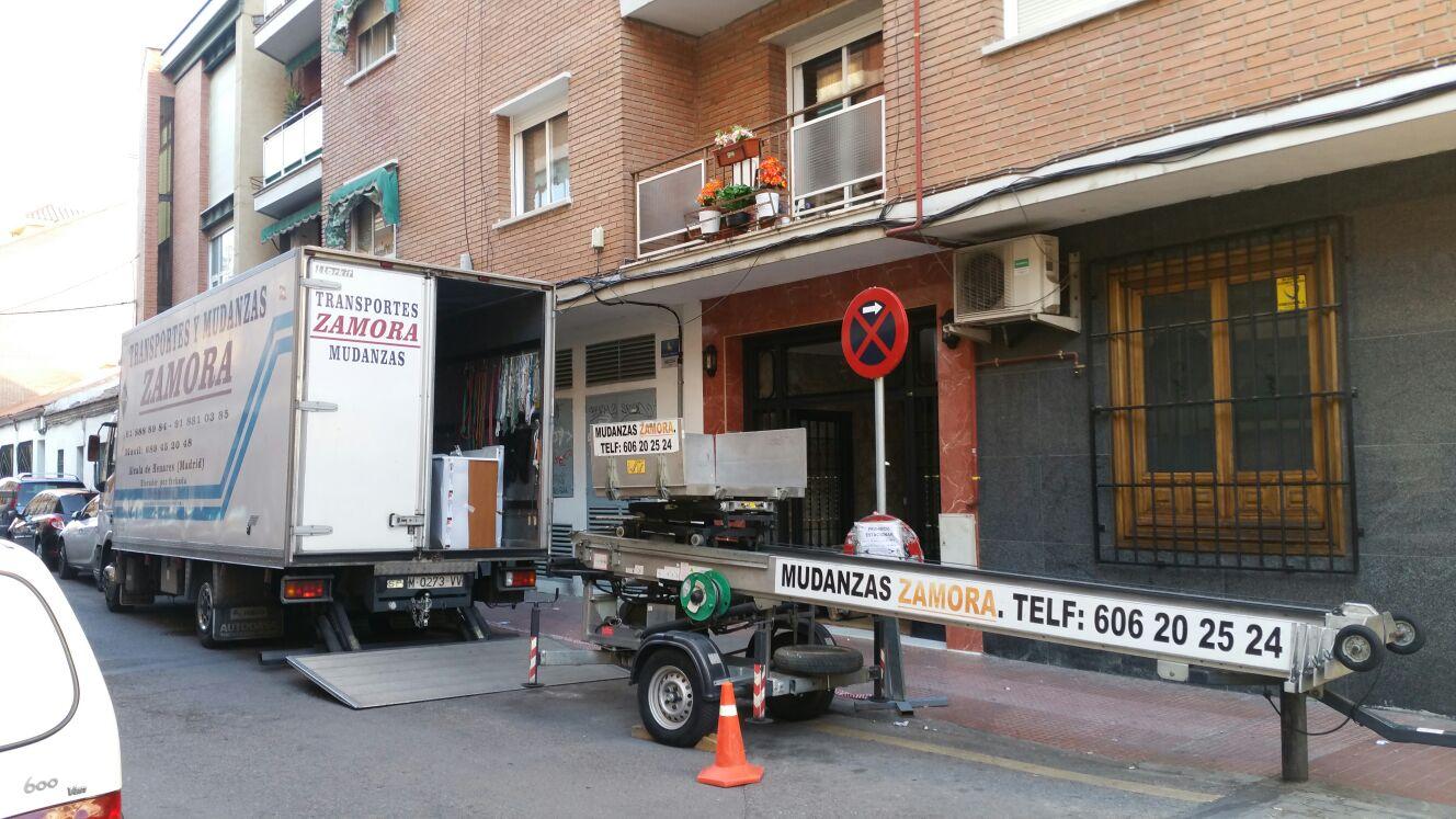 Mudanzas en alcala mudanzas zamora for Empresas de mudanzas en alcala de henares